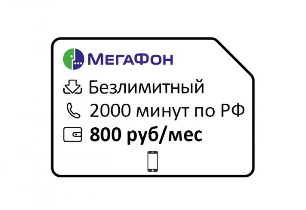 megafon. upravlyaj menedzher za 800 2000min