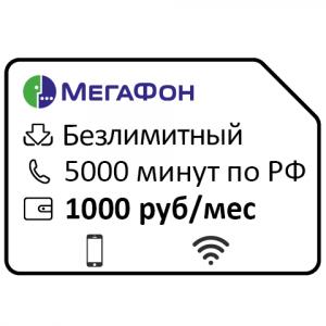 megafon. upravlyaj rukovoditel za 1000 5000min