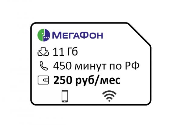 megafon. upravlyaj speczialist za 250 450min